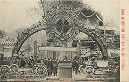 EXPOSITION INTERNATIONALE DE L'AUTOMOBILE . Types De Voitures Brasier 1907 - Sonstige