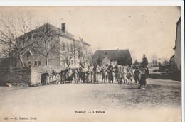 CPA 39 PARCEY L'ECOLE BELLE ANIMATION - Non Classés