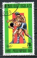 TOGO. PA 486 Oblitéré De 1983. Boxe. - Pugilato