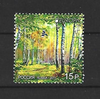 Timbre Europa Neuf ** Russie  N 7219 - 2011