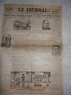 Le Journal 5 Septembre 1923 Corfou Mussolini Confit Italo Grec Catastrophe Japon Tremblement De Terre Fasciste Paris - Other