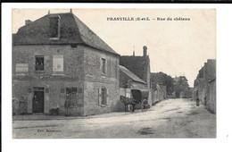 PRASVILLE (E.-et-L.) - Rue Du Château - Other Municipalities