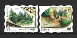 Timbre Europa Neuf ** Serbie N 398 / 399 - 2011