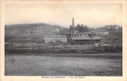 MINES & MINEURS - 71 - MINES De CHIZEUL ( CHALMOUX ) Vue De Détails - CPA Village - Saône Et Loire - Miniere