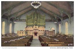 Interior First Presbyterian Church Fairfield Iowa - Other