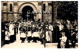 91 RIS-ORANGIS - Communion - Sortie De Messe - Carte-photo - Ris Orangis