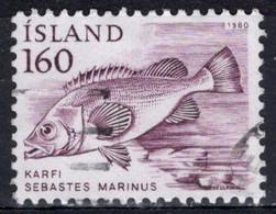 1980 160a Rose Fish, Used - Oblitérés