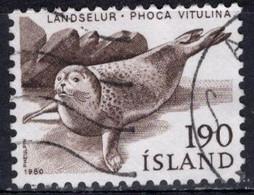 1980 190a Harbor Seal, Used - Oblitérés
