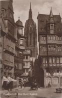Frankfurt Main - Alter Markt Mit Domblick - 1925 - Frankfurt A. Main