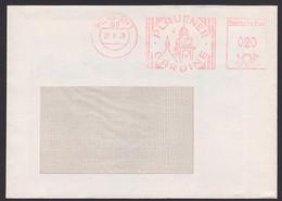 Plauen Plauener Gardinen AFS =DP 020= 1978 Vogtland Abb. Rathausturm, Volkskunst - Poststempel - Freistempel