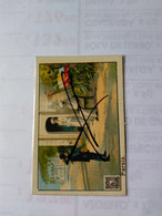 Persia.Cromono Postcard.duval Throat Pills.blank Back.postman.flag.stamp.cct.world Review.cig 43.persian Guitar Player.. - Iran