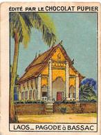 PIE-FO-21-3503 : EDITION DU CHOCOLAT PUPIER. LAOS. PAGODE A BASSAC - Laos