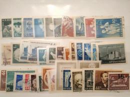 BULGARIE - 1954/1955 Lot De 37 Timbres (voir Scan) - Gebraucht