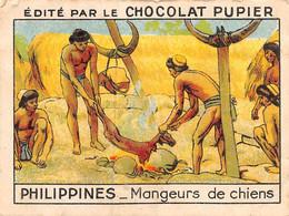 PIE-FO-21-3508 : EDITION DU CHOCOLAT PUPIER. PHILIPPINES. MANGEURS DE CHIEN - Philippines