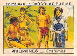 PIE-FO-21-3509 : EDITION DU CHOCOLAT PUPIER. PHILIPPINES. COSTUMES - Philippines
