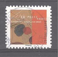 France Autoadhésif Oblitéré N°1969 (Vassily Kandinsky - Dans Le Cercle) (cachet Rond) - Oblitérés