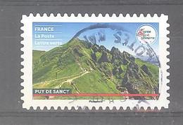 France Autoadhésif Oblitéré (France Terre De Tourisme : Puy De Sancy) (cachet Rond) - Oblitérés