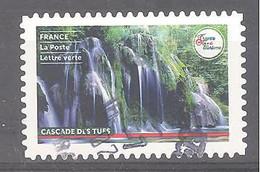 France Autoadhésif Oblitéré (France Terre De Tourisme : Cascade Des Tufs) (cachet Rond) - Oblitérés