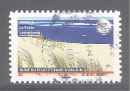 France Autoadhésif Oblitéré (France Terre De Tourisme : Dune De Pilat Et Banc D'Arguin) (cachet Rond) - Oblitérés