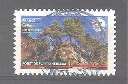 France Autoadhésif Oblitéré (France Terre De Tourisme : Forêt De Fontainebleau) (cachet Rond) - Oblitérés
