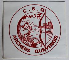 Autocollant Vintage Archers Quevenois C. S. Q. Tir à L'arc Queven - Pegatinas
