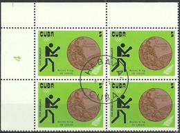 BOXEO.CUBA 1973  Mi:CU 1843 BLOCK - Pugilato