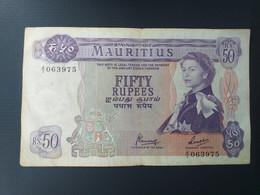 MAURITIUS 50 RUPEES 1967 - Mauritius