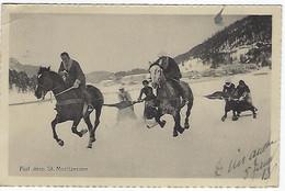 SUISSE - St. Morizersee - Auf Dem St. Moritzersee - 1913 - GR Grisons