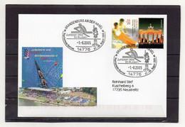 BRD, 2005, Brief (echt Gelaufen), Mit Michel 2441, Sonderstempel, Junioren-WM Im Rudern - Lettres