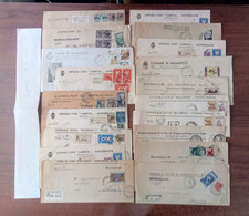 Lotto  BA -  40  Buste Storia Postale Italia - Vari Comuni - Sammlungen