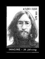 United Nations (Vienna) 2021 Mih. 1131 Music. Singer John Lennon MNH ** - Ungebraucht