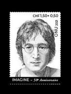 United Nations (Geneva) 2021 Mih. 1148 Music. Singer John Lennon MNH ** - Ungebraucht