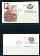 USA 1971 2 PS Cards With Reply Cards Paul Revere Patriot First Day Issue  11512 - 1961-80