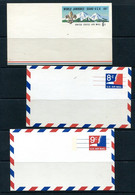 USA 1967/71 3 Unused Postal Stationary Cards Virgin Island Eagle  11517 - 1961-80