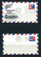 USA 1968/71 2 Postal Stationary Cards First Day Issue 11518 - 1961-80