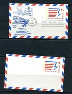 USA 1974 2 Postal Stationary Cards Stylized Eagle 11519 - 1961-80