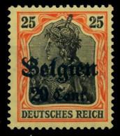 BES 1WK LP BELGIEN Nr 17 Ungebraucht X6D1386 - Ocupación 1914 – 18