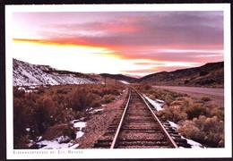 AK 001040 USA - Nevada - Eisenbahnschienen Bei Ely - Other