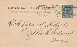 Salesman's Notice To The Rock Island Hardware Co., Rock Island, Quebec From Alex. McArthur & Co Mfg. Tarred Felt - Otros