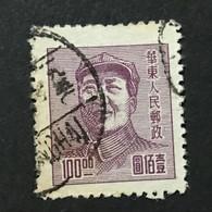 ◆◆◆CHINA 1949 3rd Print Mao Zedong Issue,  $100 USED   AB8165 - Ostchina 1949-50