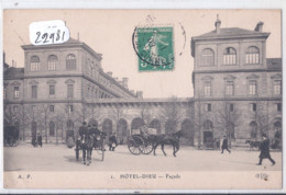 PARIS- HOTEL-DIEU- LA FACADE-  ELD 1 - Other Monuments