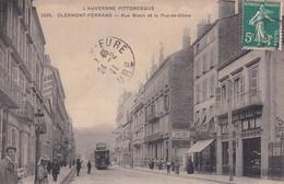 Clermont Ferrand Rue Blatin  Publicité Michelin - Clermont Ferrand