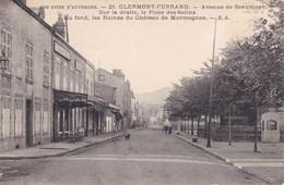 Clermont Ferrand Avenue De Beaumont Place Des Salins - Clermont Ferrand