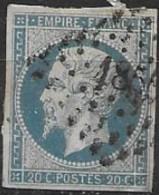 TP14,obl.PC1856,Mansle(CHARENTE),ind.4 - 1849-1876: Période Classique