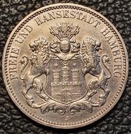 Hamburg 3 Mark 1911 - 2, 3 & 5 Mark Silber