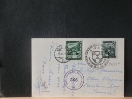 94/887  CP AUTRICHE  1946 POUR LA SUISSE CENSURE - 1945-60 Lettres