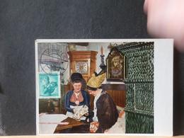 94/889 CP AUTRICHE  1950 VERSO BLANCO - 1945-60 Lettres