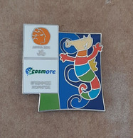 2004 Athens Paralympic Games,Cosmote Sponsor, Mascot Proteas Pin.EXTRA RARE!!! - Jeux Olympiques