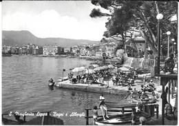 Cpsm S. MARGHERITA LIGURE / Bagni E Alberghi . - Genova