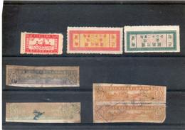 Chine-China-Cina-Etiquettes?Fiscaux? Voir Le Scan - Unused Stamps